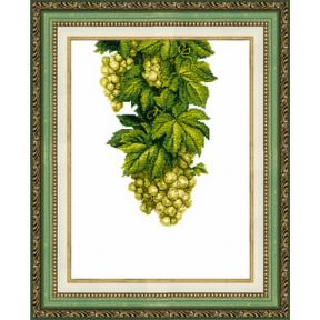 Набор для вышивания крестом  Чарівна Мить ВТ-137 Янтарный виноград
