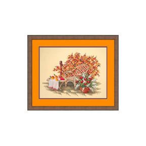 Набор для вышивки крестом RTO R185 Осень в саду