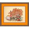 Набор для вышивки крестом RTO R185 Осень в саду фото