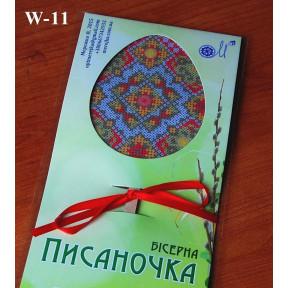 Деревянная заготовка для изготовления бисерной писанки W-11 фото