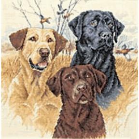 Набор для вышивания  Dimensions 35096 Great Hunting Dogs