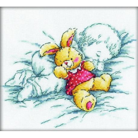 Набор для вышивки крестом RTO M157-k Сладкий сон фото