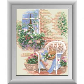 Набор для рисования камнями алмазная живопись Dream Art Домашний уют (квадратные, полная) 30271D