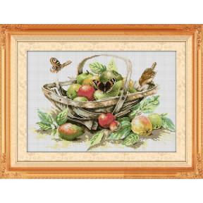 Набор для рисования камнями алмазная живопись Dream Art Летний урожай (квадратные, полная) 30208D