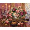 Набор для вышивки крестом Dimensions 35185 Romantic Floral фото