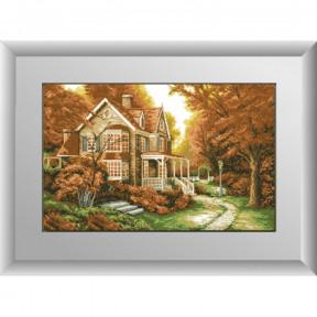 Набор для рисования камнями алмазная живопись Dream Art Осенняя легенда (квадратные, полная) 30219D