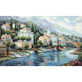Набор для вышивания крестом Classic Design Итальянский пейзаж 4408