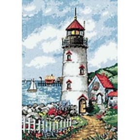 Набор для вышивания Dimensions 02436 Lighthouse Cove фото