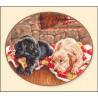 Набор для вышивки крестом Алиса 1-06 Джим и Бим фото