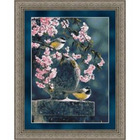 Набор для вышивания  Kustom Krafts 73037 Spring Cascade