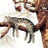Набор для вышивания Dimensions 35087 Too Pooped Cat фото