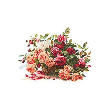 Набор для вышивки крестом Алиса 2-06 Розы фото