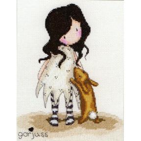 Набор для вышивания крестом Bothy Threads XG6 I love You Little