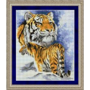 Набор для вышивания  Kustom Krafts 99967 Spirit of the Tiger-Siberian