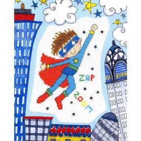 Набор для вышивания крестом Bothy Threads XKK3 Superboy