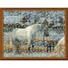 Набор для вышивки Риолис 1245 Снежная зима фото