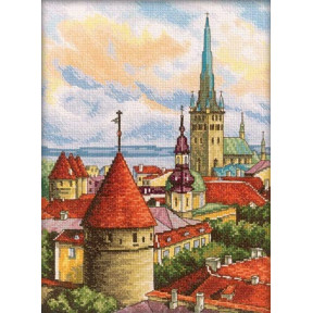 Набор для вышивки RTO M200 Башни старого города