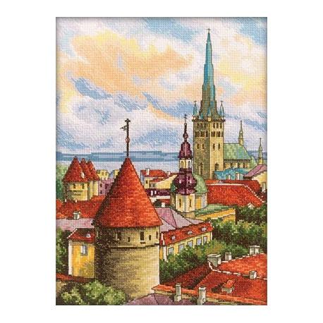 Набор для вышивки RTO M200 Башни старого города фото