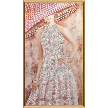 Набор для вышивания бисером Нова Слобода ДК-2100 Ажур фото