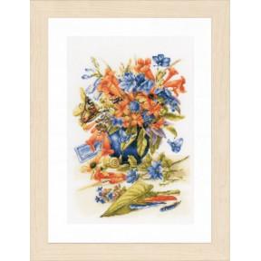 Набор для вышивания Lanarte PN-0156103 Flower vase фото