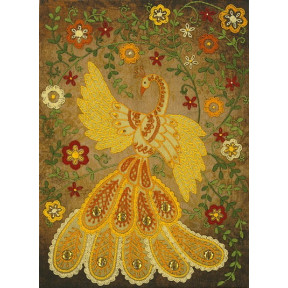 """НКШ-4010 Наборы для вышивания нитками (декоративные швы) Марічка """"Сказочная жар-птица"""""""