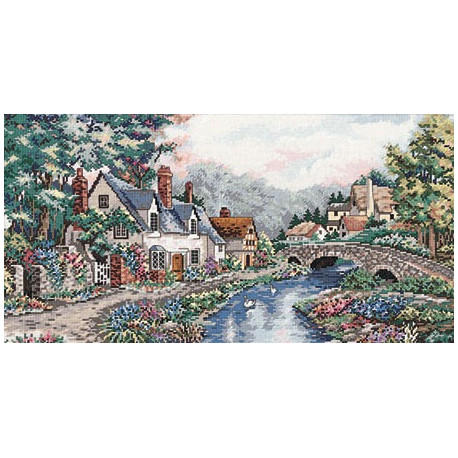 Набор для вышивания Dimensions 3753 Valley of the River Beck