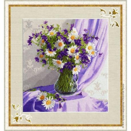Набор для вышивки Золотое Руно СЖ-019 Сиреневый натюрморт фото
