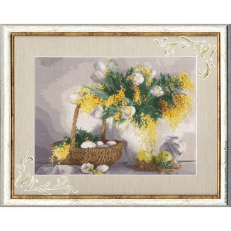 Набор для вышивки Золотое Руно СЖ-021 Желтый натюрморт фото