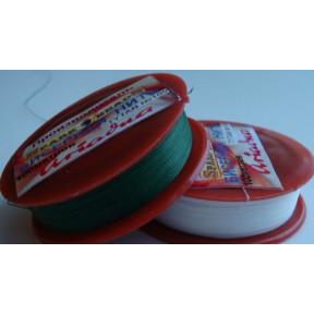 Бисерная нить TYTAN 2576 зеленая 100м