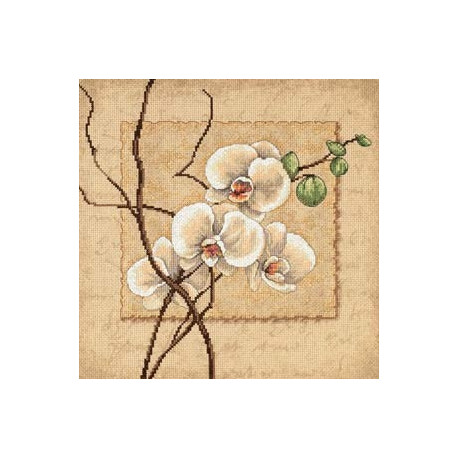 Набор для вышивания Dimensions 35176 Oriental Orchids фото