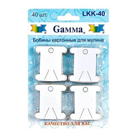 Бобины картонные для мулине Гамма LLK-040 фото