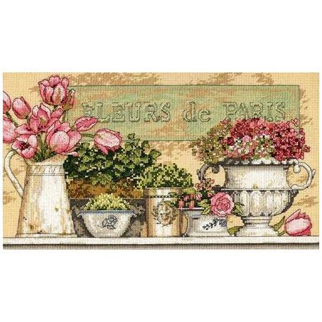 Набор для вышивания Dimensions 35204 Flowers of Paris фото