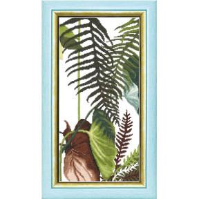 Набор для вышивания крестом  Чарівна Мить ВТ-169 Триптих Сквозь жаркие тропики
