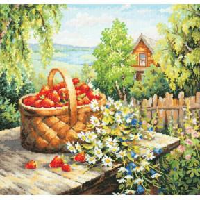 Набор для вышивки крестом Чудесная игла 47-06 Любимая дача