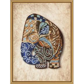 Набор для вышивания бисером Нова Слобода ДК-5597 Индийский слон