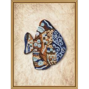 Набор для вышивания бисером Нова Слобода ДК-5598 Пестрая рыба