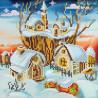 Схема для вышивания бисером Абрис Арт АС-038 Волшебная зима фото