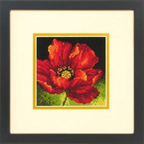 "Набор для вышивания Dimensions 71-07246 ""Красный мак/Red Poppy"""