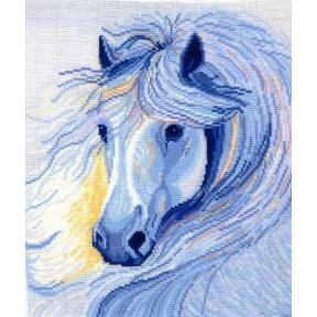 Набор для вышивки Сделай Своими Руками Белогривая лошадь Б-14