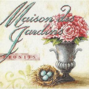 Набор для вышивания крестом Classic Design Садовые цветы 4415