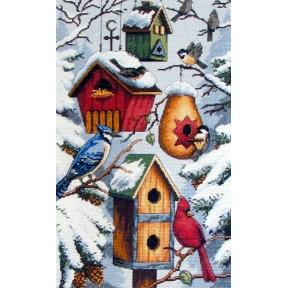 Набор для вышивания крестом Classic Design Птичий совет 4419
