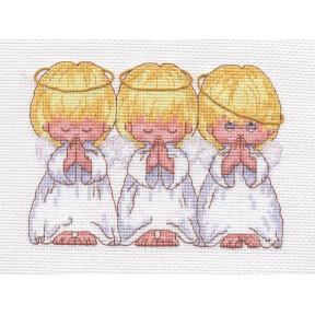 Набор для вышивания крестом Classic Design Маленькие ангелы 4423