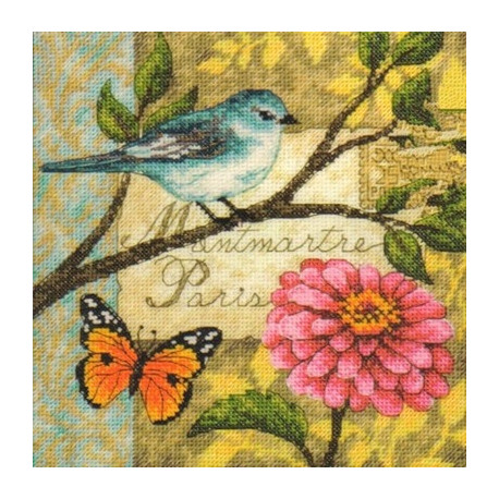 Набор для вышивки крестом Dimensions 70-65103 Bird Poste фото