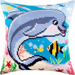 Набор для вышивки подушки Чарівниця Z-65 Дельфин фото
