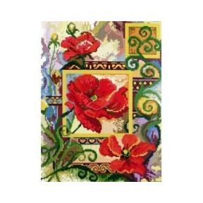 Набор для вышивки Candamar Designs 52301 Poppies фото