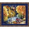 Набор для вышивки Золотое Руно ГМ-012 Осенний марафон фото