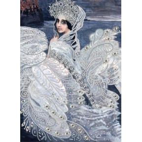 Набор для вышивания  бисером Нова Слобода ДК-2103 Царевна-Лебедь
