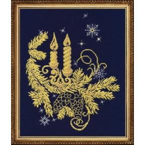 Набор для вышивки крестом Овен 1022 Золотое сияние