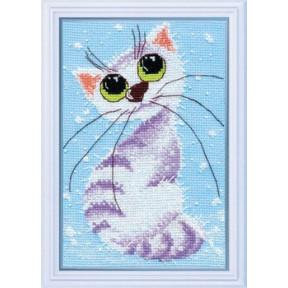 Набор для вышивки крестом Овен 1026 Кошка-крошка-2 фото