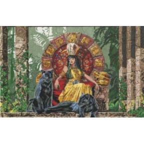 Набор для вышивания крестом DMC BK752 Aztec Queen
